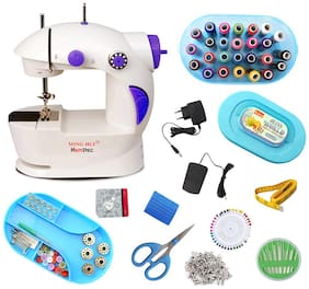 Hemdec 4in1 Portable & Compact With Sewing Accessories HMD-CMB07 Electric Sewing Machine