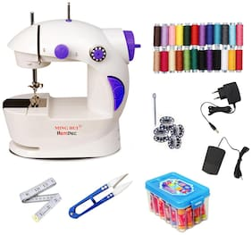 Hemdec Thread Box With 4in1 Portable & Compact HMD-CMB06 Electric Sewing Machine