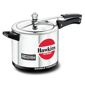 Hawkins Hevibase Aluminium 6.5 L Inner Lid Pressure Cooker - Set of 1