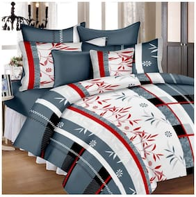 Hi-Life Ahmedabad Cotton Superior Cotton Double Bedsheet With 2 Pillow Covers