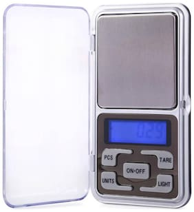 High Precision Jewellery weighing with 200g capacity and green backlight - MH200 Weighing Scale (Assorted Color)