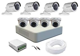 Hikvision 2MP 8 CCTV Cameras with Night Vision and 8 Channel DVR Standalone Kit