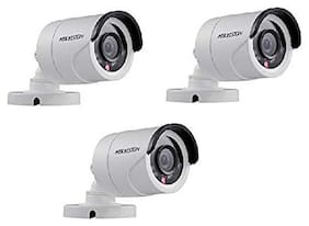 HIKVISION Full HD 2MP Cameras Combo KIT (DS-2CE1AD0T-IRP/ECO(Pack of 3))