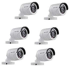 Hikvision Full Hd 2Mp Cameras Combo Kit (Ds-2Ce1Ad0T-Irp/Eco(Pack Of 6)