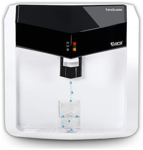 Hindware Elara 7-Liter RO+UV+UF+Mineral Fortification Water Purifier (White;Black)