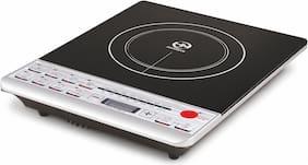 HM A-1 2000 W Induction Cooktop ( Black & White , Push Button Control)