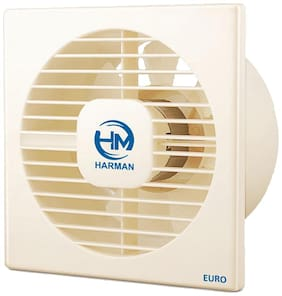 HM HAXF6 150 mm Premium Exhaust Fan ( White , Pack of 1 )