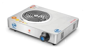 HM SS-304 2000 W Induction Cooktop ( Silver , Jog Dial Control)