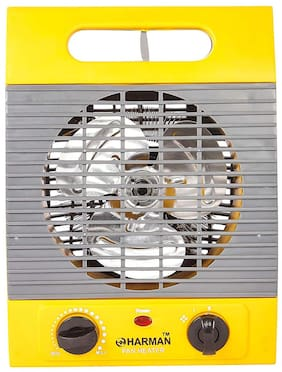 HM Warmer Room Fan Heater (Yellow)