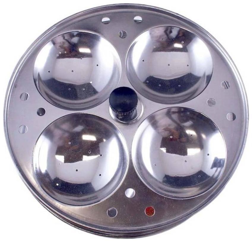 Hms Pro Standard Idli Maker   3 Plates , 12 Idlis