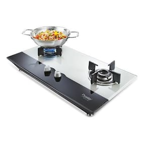 Prestige Hob 2 Burner Automatic Hobs Assorted Gas Stove