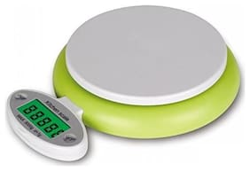 Hojo Digital Kitchen Scale Electronic Digital Kitchen Weighing Scale 5 Kgs Weight Measure Spices Vegetable Liquids
