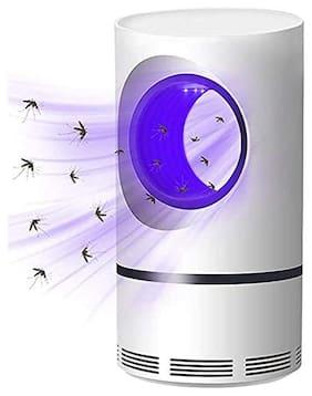 Holyratna Eco Friendly Electronic LED Mosquito Killer Machine Trap Lamp, Theory Screen Protector Mosquito Killer lamp for Home, USB Powered Electronic (Cobra-White) (White)