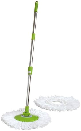 Home & Kitchen Cleaning Mop rod (Pack of 2, Assorted Color)