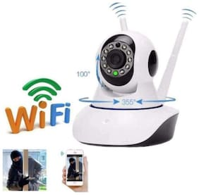 home Security IP Camera Wireless Surveillance Camera Wifi 720P Night Vision Dual Antenna Support