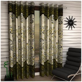 Home Sizzler Window Curtains (Set of 2)