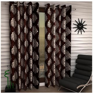 Home Sizzler Supremo 1 PC Curtain