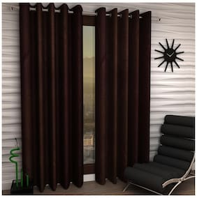 Home Sizzler Frill Fancy Set Of 2 Curtains