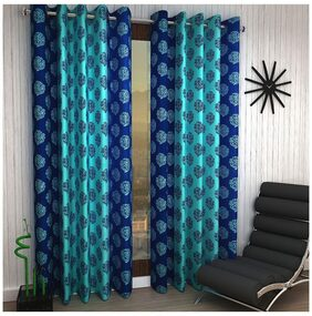 Home Sizzler Set of 2 Window Curtains