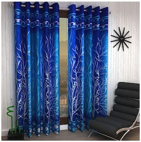 Home Sizzler Set of 2 Door Curtains