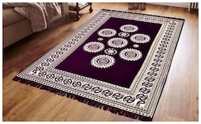 Home Solution 5x7 Chennile Carpet