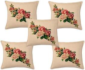 Home Solution Digital Print Cushion Cover 5 pcs set