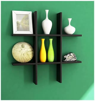 Home Sparkle Plus Shaped Wall Rack