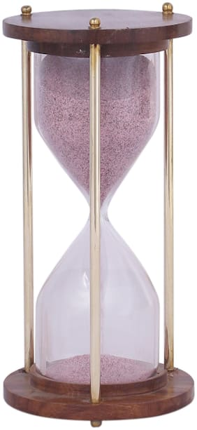 Home Sparkle 5 Minute Wood Timer