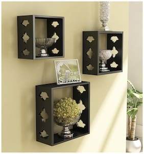 Home Sparkle 3 Cube Shelves
