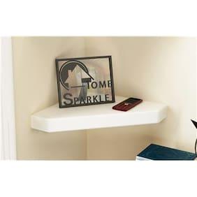 Home Sparkle Corner Wall Shelf