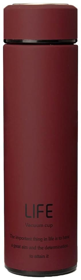 Home Story Red Thermosteel flask ( 480 ml , Set of 2 )