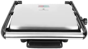 HOMEBERG HSG736 4 Slices Sandwich Maker - Silver
