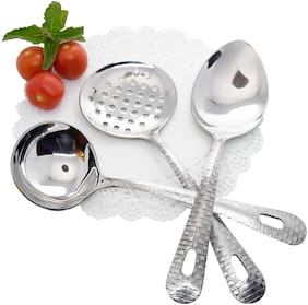Homeish Stainless Steel Serving Tool Set of 3 pcs