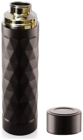 Homfine Stainless Steel Black Water Bottle ( 750 ml , Set of 1 )