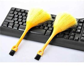 Homfine Computer/Notebook/Laptop Keyboard Dust Cleaning Duel Sided Microfiber Brush