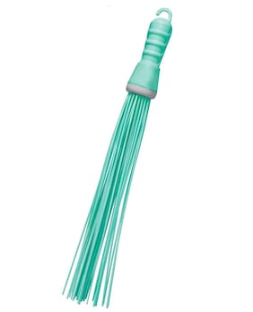 Homfine Kharata Stick Broom for Bathroom Multipurpose use