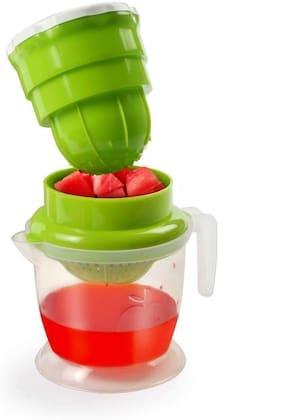 Homfine Manual Fruit and Vegetable Juicer Food Grade BPA Free Plastic for Orange,Pomegranate,Lime Fresh,Water Melon,Strawberry,Blueberry,Grapes etc.