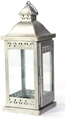 Hosley Iron Lantern (Set Of 1)
