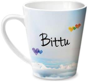 Hot Muggs Simply Love You Bittu Conical Ceramic Mug