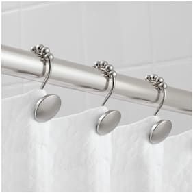 Hotel Style Peyton Shower Hooks with Easy Glide 1 Each