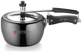 HotSun Apple Hard Anodised Pressure Cooker 3L- Black