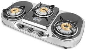 Hotsun AURA 3 Burners Stainless Steel Gas Stove - Assorted