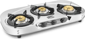 Hotsun 3 Burners Stainless Steel Gas Stove