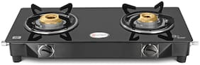 Hotsun 2 Burner Regular Black Gas Stove