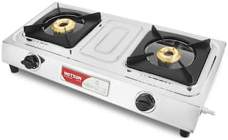 Hotsun 2 Burners Stainless Steel Gas Stove