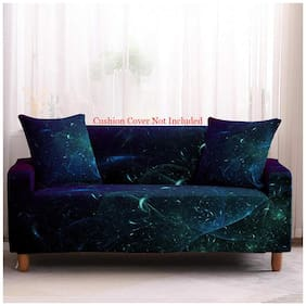 House of Quirk Universal Double Seater Sofa Cover Big Elasticity Cover for Couch Flexible Stretch Printed Sofa Slipcover (