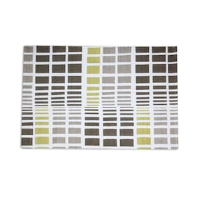 House This Pure Cotton Olive Green 1 Floor Rug