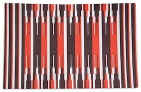 House This Pure Cotton Red 1 Floor Rug