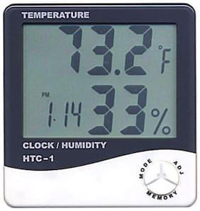 WOMS Plastic Digital Alarm clock ( Set of 1 )