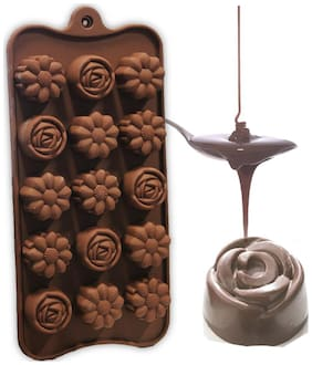 Hua You Silicone Flower Shape Chocolate Mould / Ice Mould